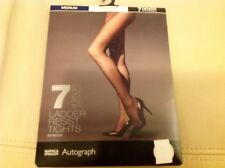 Autograph Cocoa 7 Denier Sheer Appearance Ladder Resist Tights Size: Medium