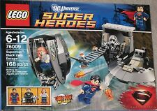 New Sealed Retired LEGO Superman Black Zero Escape # 76009 Free Priority Ship !
