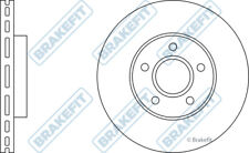 2x Brake Discs (Pair) Vented fits FORD FOCUS Mk3 1.0 Front 2012 on 278mm Set New