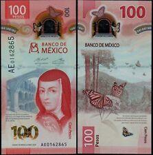 MEXICO 100 PESOS (P NEW) 2020 POLYMER UNC