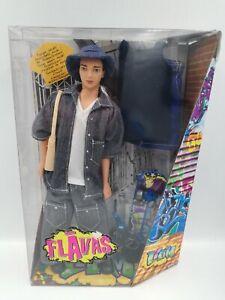 Flavas Liam Boy doll with accessories, Mattel 2003 HTF