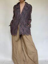 Vintage Wallis Exclusive Unusal Lace Oversized Blazer Jacket