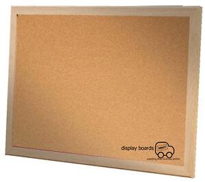 Oak Framed Cork Notice Board Pinboard 800mm x 600mm DBD4405