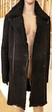 Joseph Italy Spanish Merino Lamb Sheepskin Shearling Mouton Coat дубленка M 10