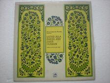ALLA  RAKHA ZAKIR HUSSAIN PERCUSSION FROM INDIA DRUMS 1972 RARE LP CLASSICAL EX