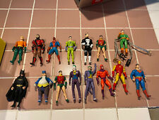 Vintage Superhero Lot, Batman, Joker, Spiderman figures with Case