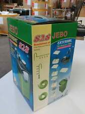 JEBO 828 Canister Filter with Mechanical Biological Chemical media for Aquarium