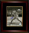 Bob Feller signed Cleveland Indians 8x10 Vintage Sepia Photo Framed HOF 62