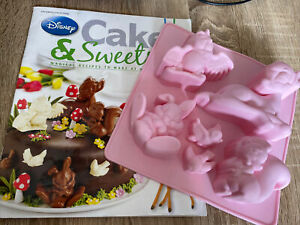 Disney Cakes And Sweets Magazine - Spring Special Edition With Accessories