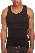 [PRO 5] Men 100% Cotton Tank Top A-Shirt Muscle Wife Beater Undershirt S~5XL 1PC