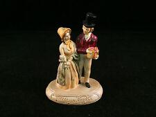 Sebastian Miniature Sml-089C Victorian Couple - Hudson 6325 Signed