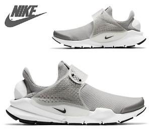 Nike Sock Dart Gray Athletic Running Shoes Trainers 848475 001 size 7,5 8, 8.5