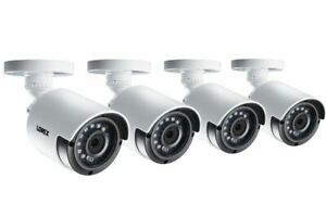 Lorex LAB243 2K 4MP Super HD Bullet Cameras with Night Vision (4 Pack) (M.Ref.)
