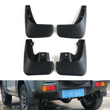 Front + Rear Mud Flaps Splash Guards Fender Mudguards For Suzuki Jimny 07-2016