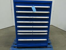 8 Drawer Industrial Parts Tool Storage Shop Cabinet 28-1/4