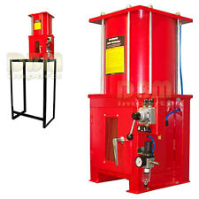 Air Hydraulic 10 Ton Oil Filter Can Crusher Crusher Smash With Floor Stand