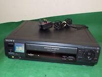 SONY SLV-E530 Video Cassette Recorder VHS Smart Engine VCR Black FULLY TESTED