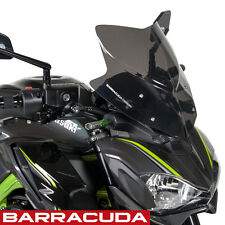 Barracuda - Kawasaki Z900 2017 - Sports Screen - Black Windshield - KN9300-17