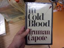 1966 In Cold Bloood Truman Capote - HCDJ - First published Great Britain LOTFOL