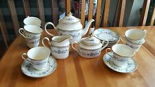 MINTON AVONLEA TEA SERVICE FOR EIGHT VGC