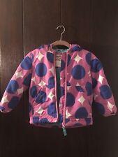 Mini Boden Toddler Girls Fleece Lined Jacket Coat Pink 3-4y Outdoor Winter