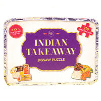 INDIAN TAKEAWAY 250 PIECE DOUBLE SIDED NOVELTY JIGSAW PUZZLE GAME IN TAKEAWAY BO