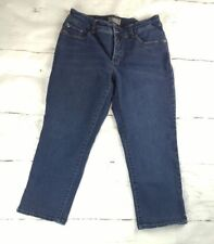 CHICO'S Platinum So Slimming Sz 0.5 (6), Cropped Stretch Women's Jeans,