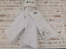 PRINGLE Sport Cushion Sock Training UK 7-11 Ribbed White Athletic 3pk Socks BNIP
