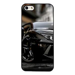 Aventador Italian Supercar plastic phone Case Fits iPhone 5 6 7 8 X