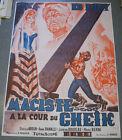 """Affiche de cinéma : """" MACISTE A LA COUR DU CHEIK"""" de DOMENICO PAOLELLA"""