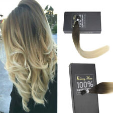 Sunny 25g/50g Remy Keratin I Tip Human Hair Extensions Brown to White Blonde