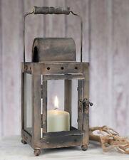 Primitive/Farmhouse/Cottage Short Milk House Lantern Decor