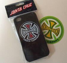 Independent Skateboards I-PHONE COVER CASE & Autocollant Nouveau Santa Cruz iPhone Skate