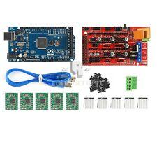 New 3D Printer Kit with Arduino Mega 2560 + RAMPS 1.4 + 5X A4988 for RepRap DIY