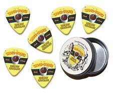 Choco Holics Hot Chocolate Martin Wiscombe 6 X Guitar Picks In Tin Vintage Retro
