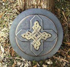 MOLD  abs plastic celtic corner to corner stepping stone concrete mold