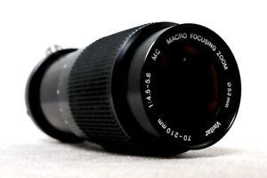 VIVITAR JAPAN 70-210mm 4.5-5.6 Macro Zoom Lens for NIKON AI-S SLR DSLR fit