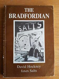 THE BRADFORDIAN 1990 - Bradford Grammar School Mag - DAVID HOCKNEY FAXING ART