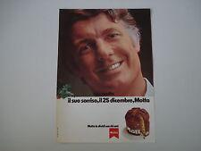 advertising Pubblicità 1973 PANETTONE MOTTA