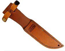 Ka-Bar KaBar Small Brown Leather USA KaBar Sheath ONLY 1251S *NEW*