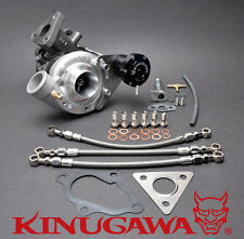 Kinugawa Upgrade Turbocharger 4M40T Pajero 2.8D TD04-15T-5cm Oil & Water-Cooled