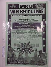 NWA Pro Wrestling Ad 2003 Repo Man, Dragon, Samantha Keys, Flesh, Jason Bates