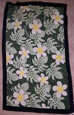 """AJW Inc Beach Pool Towel Multi Color Hawaiian Floral Hawaii 65"""" x 40.5"""""""