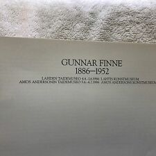 Gunnar Finne Finish Sculptor 40 Page Booklet Of Work
