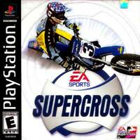 Supercross 2001 - PS1 PS2 Playstation Game Complete