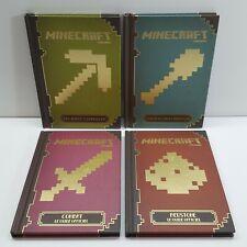 Minecraft Handbook Set Hardcover (2x English Book + 2x French Book) E200
