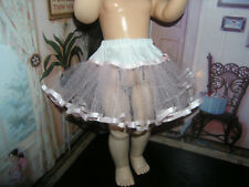 "Pink Net Petticoat  22-23"" Doll clothes fits Ideal Saucy Walker or Pedigree"
