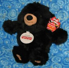 Jonathan the Teddy Bear Plush Fisher Price Bear Buddies 2004 with Tags