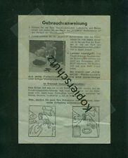 Altes Werbeblatt Kosmos Reibeansatz Fleischwolf 1930er Zeichnungen Foto Küche