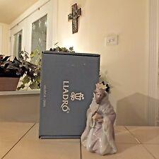 Lladro Nativity King Gaspar # 5480 Nib Mint Sealed Lladro Documents Fast Ship!